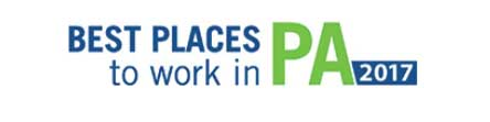 The Best Places To Work In PA 2017 logo.
